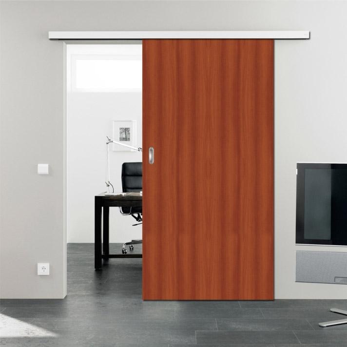 Puertas plegadizas de madera precios mayoristas minorista for Guias puertas correderas colgantes