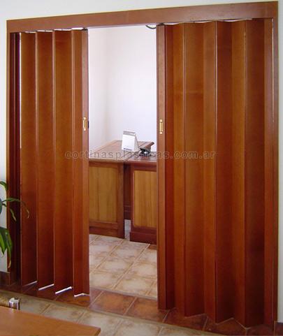 Puertas plegadizas de madera precios mayoristas minorista for Precios en puertas de madera