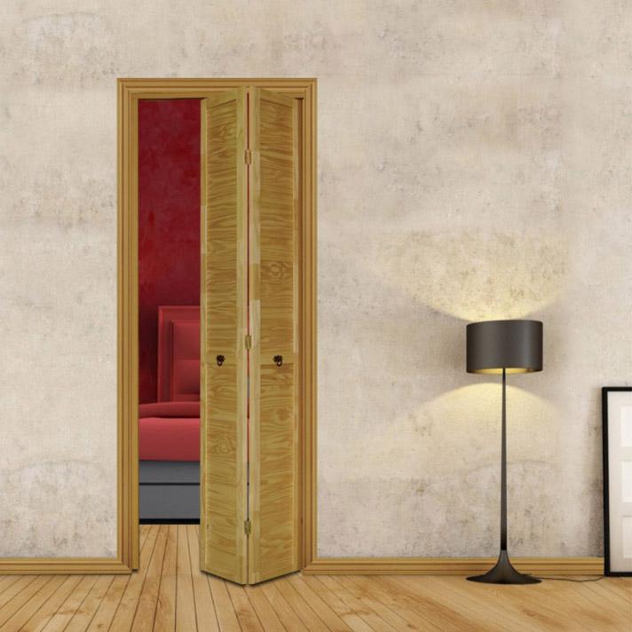Puertas plegadizas de madera precios mayoristas minorista for Cortinas de madera para puertas