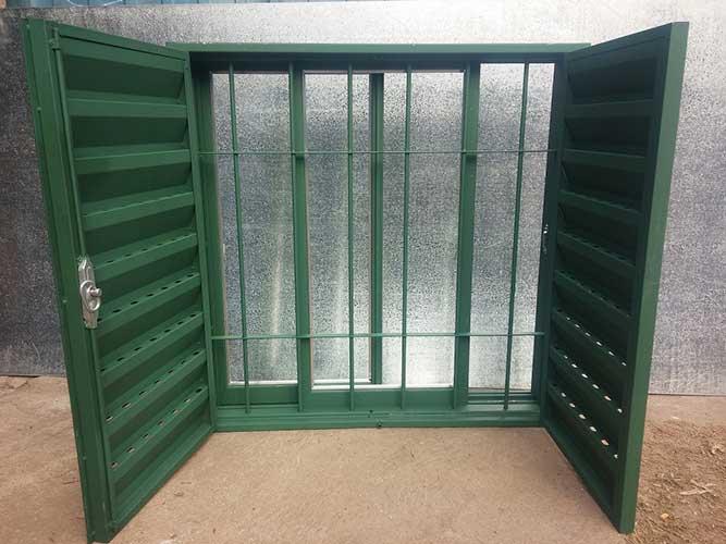 Ventanas de chapa precios con persianas mayoristas - Celosias para ventanas ...